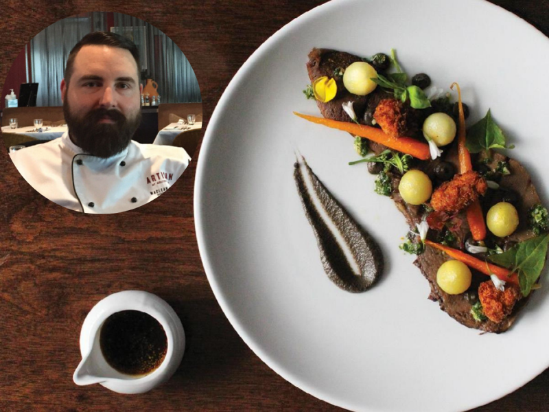 MacLean Fraser chef